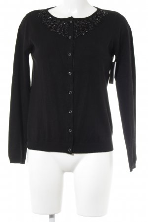 Sfera Cardigan schwarz Business-Look