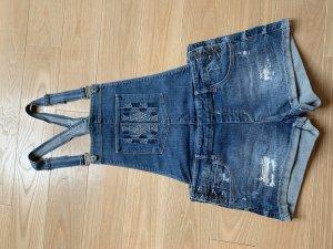 Sfera Jeans met bovenstuk staalblauw Katoen