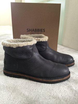 Shabbies amsterdam Botas azul oscuro