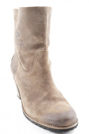 Shabbies amsterdam Ankle Boots graubraun Casual-Look