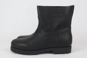 SHABBIES AMSTERDAM Ankle Boots Schuhe Gr. 40 schwarz NEU