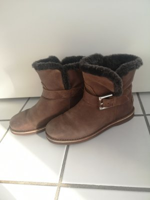 Shabbies amsterdam Winter Booties brown