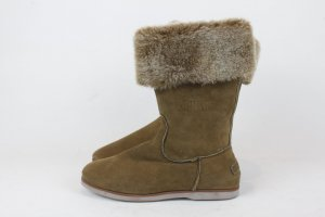 SHABBIES AMSTERDAM Snow Boots Schuhe Gr. 40 braun NEU