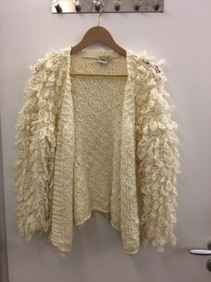 Shaggy Sweater Pullover Jacke Gr S