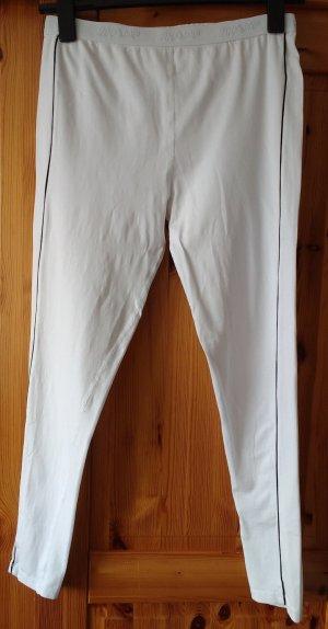Bottom white-black mixture fibre