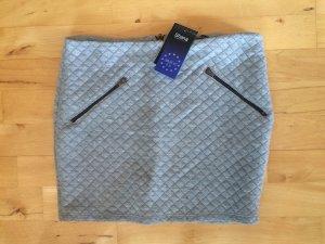 Shana Miniskirt silver-colored polyester