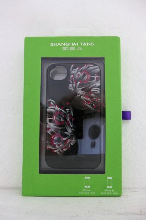 Shanghai Tang Handyhülle Case Cover iPhone 4 4S OVP schwarz Asia
