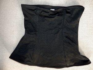 Shapewear Bodyformer Miedergürtel mit Spitzenbesatz von FLEXEES schwarz S