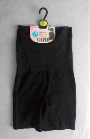 Shapewear Firm Control Bum, Tum & Thigh Shape Schwarz Neu