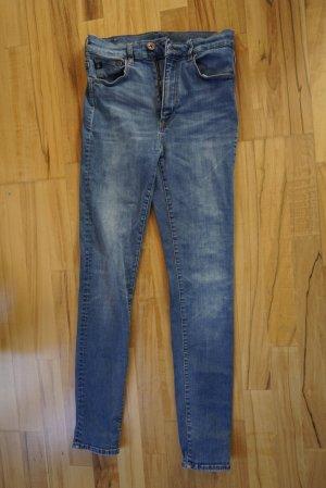 Shaping High-Waist-Jeans von H&M