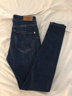 Mango Jeans skinny bleu-bleu foncé