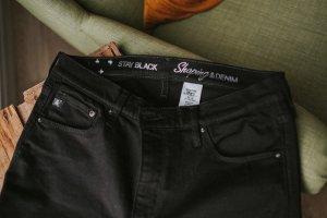 """Shaping"" Jeans schwarz"