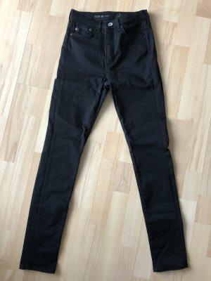 Shaping Skinny High Jeans H&M schwarz Gr. 28 / 30 ( 36 )