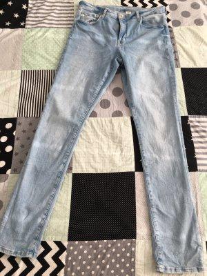 Shaping Skinny Jeans H&M 36/34 hellblau neu