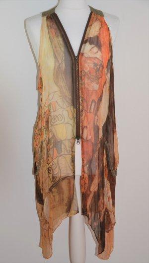 Hippie Dress multicolored silk