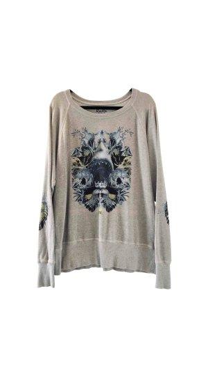 Shark Print Sweater
