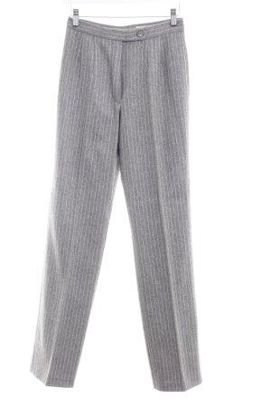 She Pantalon à pinces gris rayure fine style d'affaires
