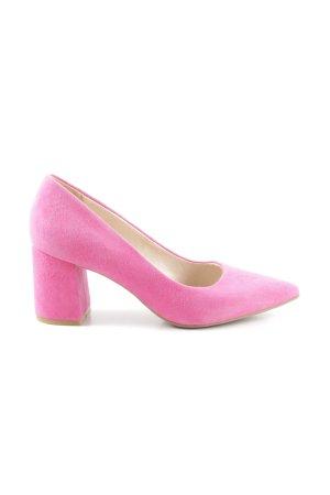 She Tacones altos rosa estilo «business»