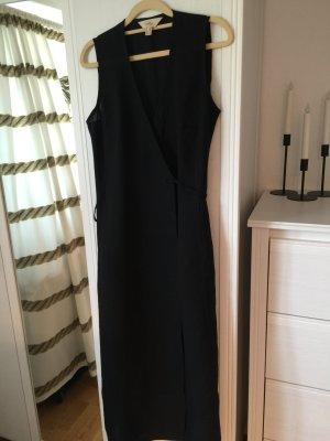 She Kleid Wickelkleid Tunika 38/M schwarz