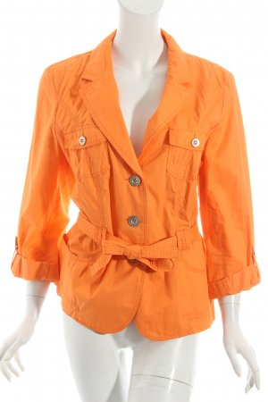 She Kurzjacke neonorange Casual-Look