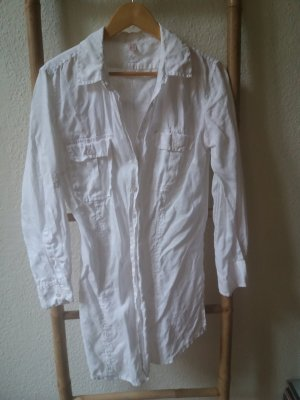 She Linen Blouse white