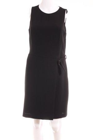 She Midi-jurk zwart casual uitstraling