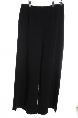 She Pallazzohose schwarz Business-Look