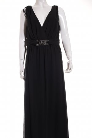 Sheego Abendkleid schwarz Elegant
