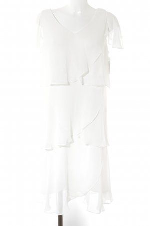 Sheego Ball Dress natural white wet-look