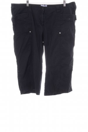 Sheego Capris black simple style