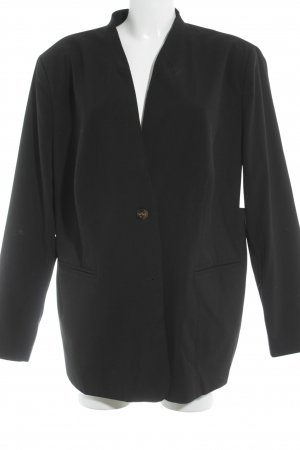Sheego Long-Blazer schwarz Business-Look