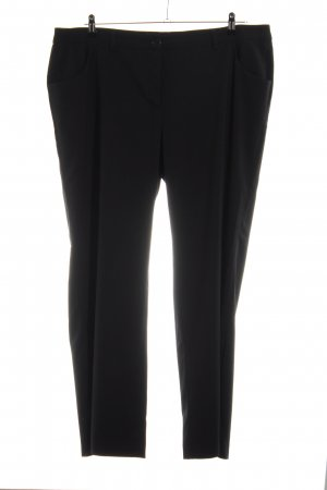 Sheego Marlenehose schwarz Business-Look