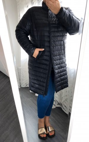 Sheego Quilted Coat black