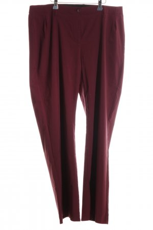 Sheego Stoffhose rot Casual-Look