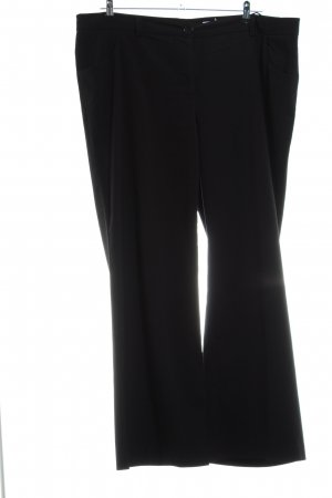 Sheego Stoffhose schwarz Business-Look