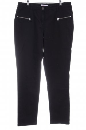 Sheego Straight-Leg Jeans schwarz Casual-Look