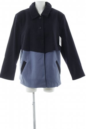 Sheego Übergangsmantel dunkelblau-kornblumenblau meliert Elegant