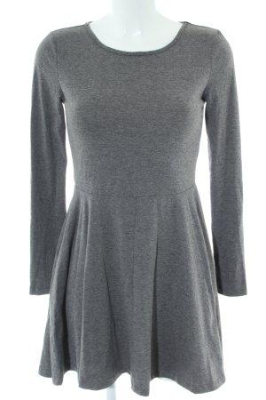 SheIn A-Linien Kleid hellgrau meliert Casual-Look