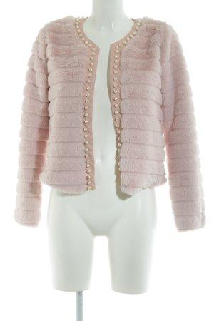 SheIn Bontjack roze extravagante stijl
