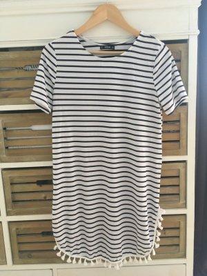 SHEIN Kleid blau weiß gestreift Gr. XS / 34