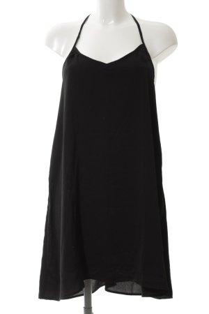 Sheinside Blusenkleid schwarz Casual-Look