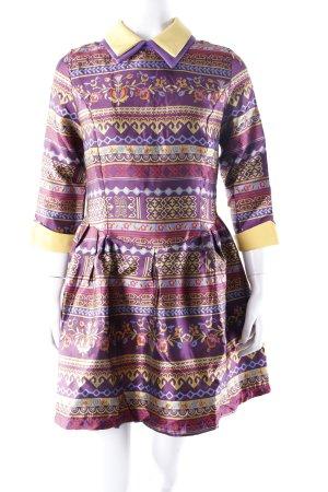 Sheinside bunt gestreiftes Kleid