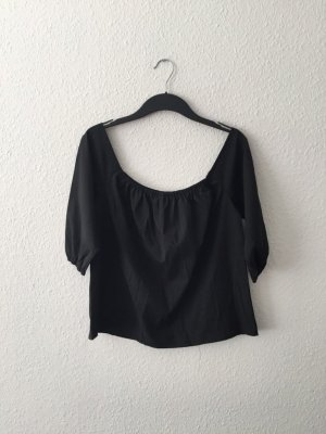 Sheinside Off-Shoulder Oberteil schwarz S