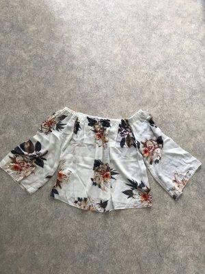 Sheinside Carmen shirt veelkleurig