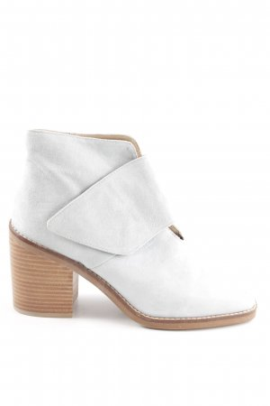 Shellys Ankle Boots hellgrau-braun Casual-Look