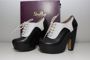 Shellys Lace-up Pumps multicolored