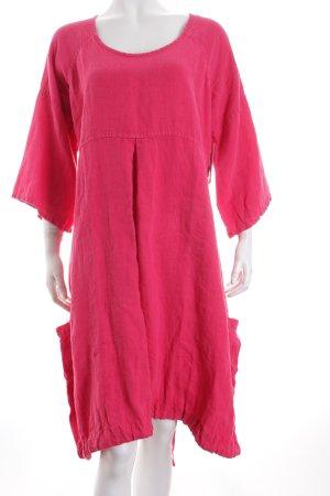 Shepards Langarmkleid pink Hippie-Look
