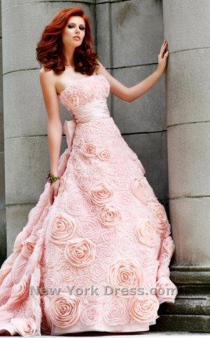 Sherri Hill Hochzeitskleid aus Rosen