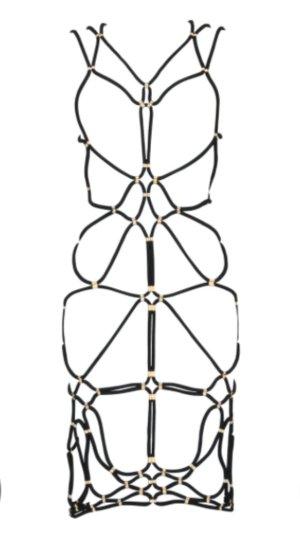 Shibari Rope Dress von DSTM