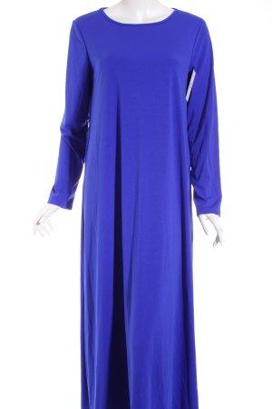 SheIn Maxikleid blau schlichter Stil